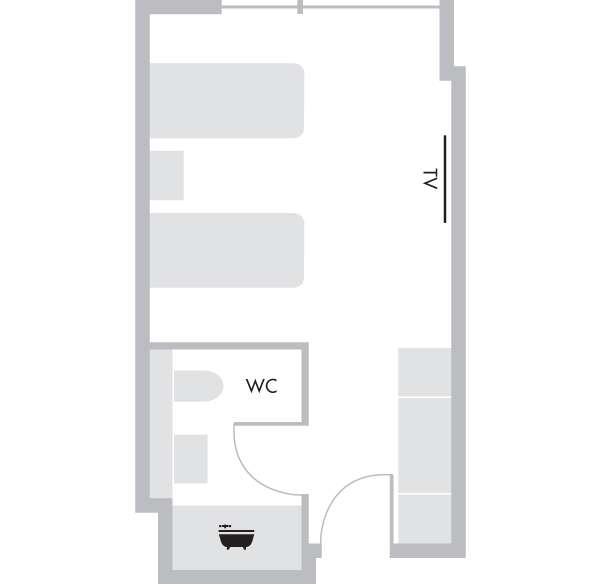 Workspace Twin - Floorplan