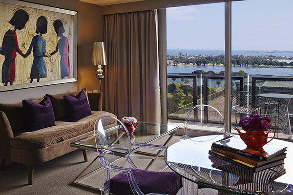 Bay Executive Suite Balcony